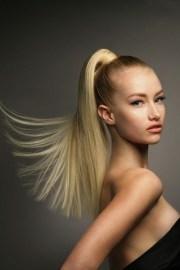 sleek high ponytail - 15 fabulous