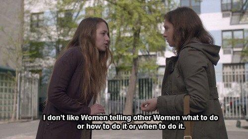 Resultado de imagen de girls hbo quotes