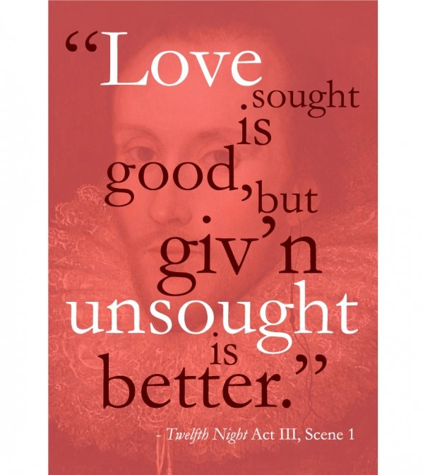 William Shakespeare Famous Love Quotes