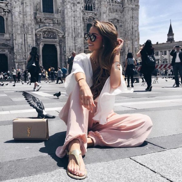 Milan Cathedral, clothing, road, footwear, fashion,