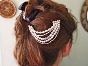 pearl hair piece - 8 gorgeous diy