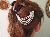Pearl Hair Piece - 8 Gorgeous DIY Bridal Hair Pieces ...