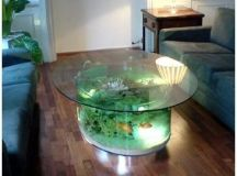 Coffee Table Fish Tank - 28 Everyday Items Turned into ...