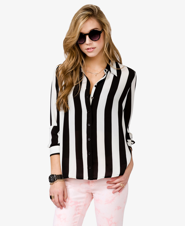 Vertical Striped Shirt 8 Striped Pieces To Wear This