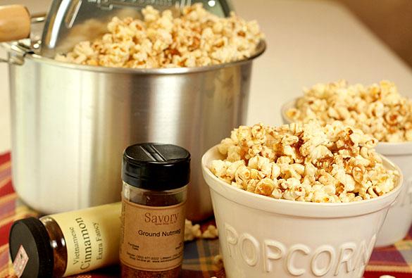 cinnamon spice popcorn recipe
