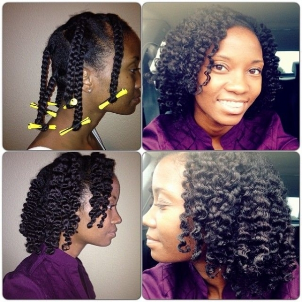 30 Braid Out Natural Hairstyles Rod Hairstyles Ideas Walk The Falls