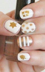 fantastic hanukkah nail art
