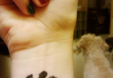 Dog Paw Print Tattoo Ideas