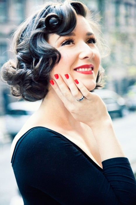 Retro Pinup Girl Waves  7 Amazing Styles for Curly Hair