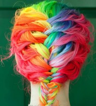 Rainbow Hair - 11 Crazy Hair Colors You Wish You Had ...
