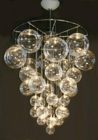 22. DIY Bubble Chandelier - 34 DIY Chandeliers to Light up ...
