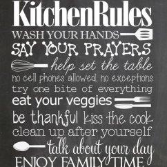 Kitchen Art Prints Top Appliance Brands 9 异想天开的厨房黑板图书免费下载 这是一个可爱的可爱厨房艺术打印为任意大小的家庭 我喜欢 吃你的蔬菜 和 吻厨师 的规则 除了厨房 这也会可爱挂在你的饭厅里
