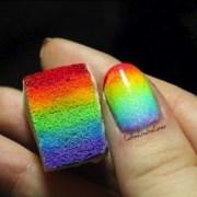 rainbow sponge design - 21 fun