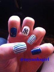 york yankees - 36 sports nail
