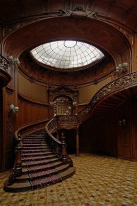 Mansion House, Vienna, Austria - 47 Amazing Staircases You'll