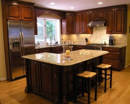 l shaped kitchen island with cabinets and design L-Shaped Kitchen Island - 22 Kitchen Islands That Must Be Part of…
