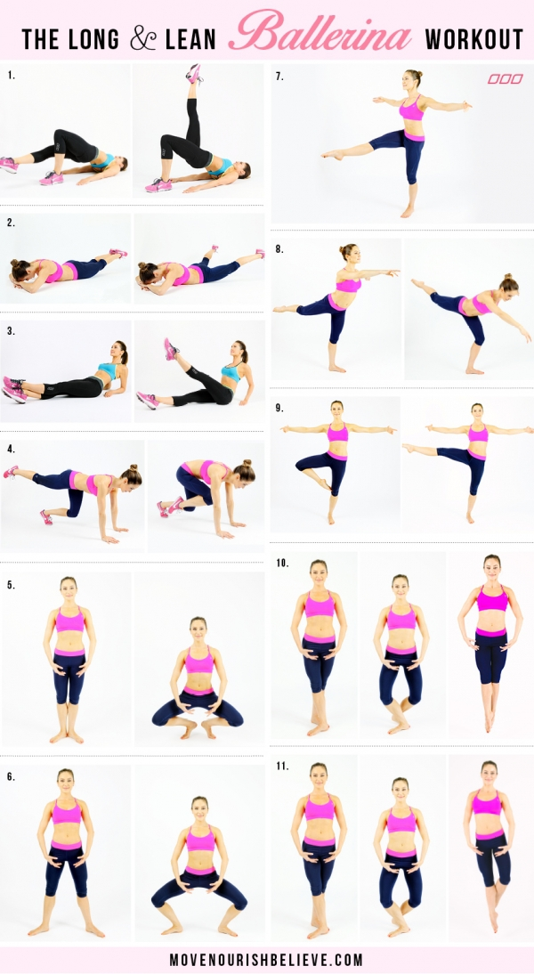 The Long & Lean Ballerina Workout