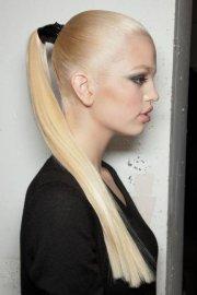 long and sleek ponytail - 29 ways