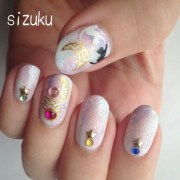17. fancy sailor moon nails - 23