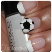 soccer design - 36 sports nail