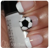 Soccer Designs - 36 Sports Nail Art Ideas That Will Make You