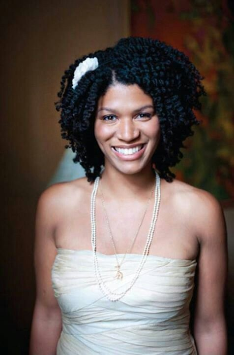 9 Beautiful Wedding Styles For Short Natural Hair You Will Love