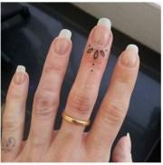 36. fingernail flower design