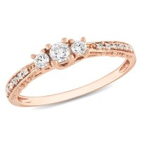 Rose Gold Engagement Rings: Rose Gold Engagement Rings At ...