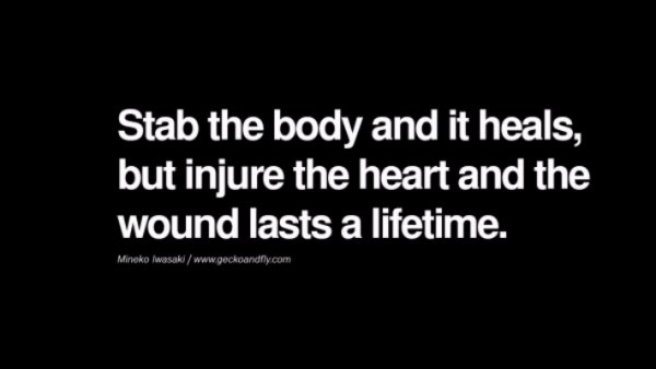 Stop Hurting Your Heart