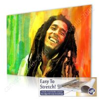 CANVAS +GIFT Bob Marley Jamaican Reggae Singer Alonline ...