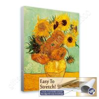 Sunflowers Tournesols by Vincent Van Gogh | Canvas (Rolled ...