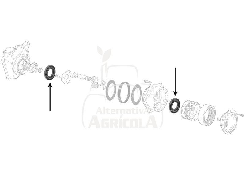 RODAMIENTO INTERIOR Ø 120 X 170 X 28 MM