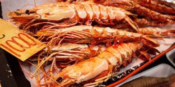 【大阪食記】中央區 黑門市場 ● 三平水產 ● 大口吃才爽 ● 大阪城好壯觀 ❤❤