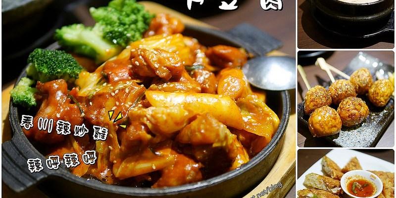 清甜豆腐煲、春川辣炒雞、香脆海鮮煎餅好對味!涓豆腐(新光三越西門店)。韓式料理 台南美食