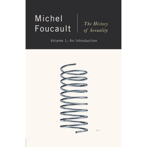 The cover of History of Sexuality, by Michel Foucault