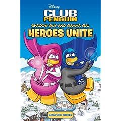 Disney Club Penguin Shadow Guy And Gamma Gal Heroes Unite