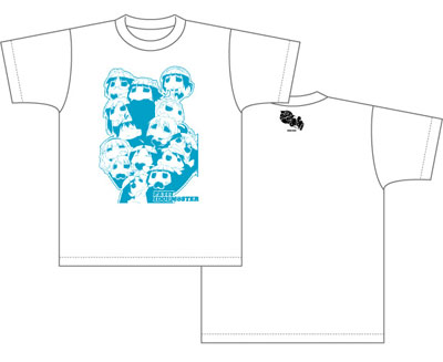 ぷちます! Tシャツ ぷちどる柄/ホワイト-XL あみあみ新着予約開始!新作フィギュア