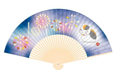 夏目友人帳 扇子 ニャンコ先生と花火|あみあみ新着予約開始:新作フィギュア