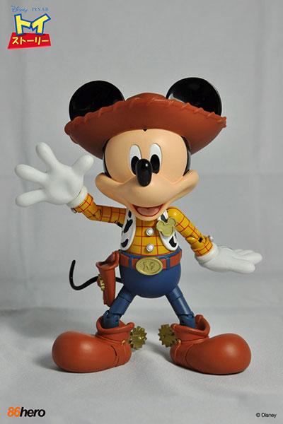 ハイブリッド・メタル・フィギュレーション #003 トイ・ストーリー ウッディ・ミッキーマウス 単品|あみあみ新着予約開始:新作フィギュア