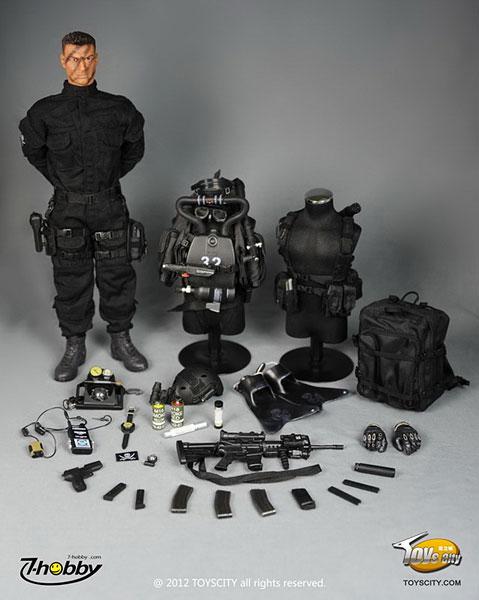 アクションフィギュア 1/6 U.S. NAVY SEAL コンバットダイバー (SEAL輸送艇チーム1) 単品|あみあみ新着予約開始:新作フィギュア