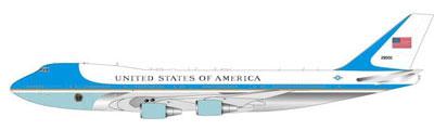 """インフライト200 ダイキャストエアプレーンモデル 1/200 VC-25A """"エアフォースワン"""" 92-9000号機 あみあみ新着予約開始!新作フィギュア"""