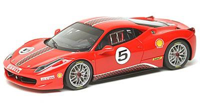 アイドロン ハンドメイドモデルカー 1/43 フェラーリ 458 チャレンジ プレゼンテーション 2010|あみあみ予約開始フィギュア新作