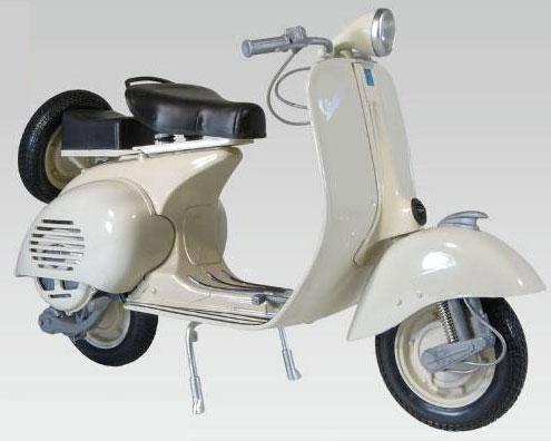 【画像】あみあみ新作フィギュア予約開始速報:ニューレイ 1/6 完成品バイク VESPA 150 VL1T