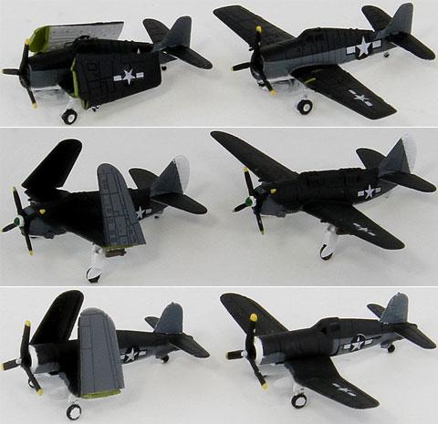 【画像】あみあみ新作フィギュア予約開始速報:SBMシリーズ 1/350 WWII米国海軍機セット(3) F6Fヘルキャット/SB2Cヘルダイバー/F4Uコルセア プラモデル