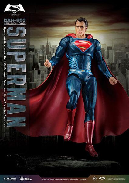 ダイナミック・アクション・ヒーローズ #003『バットマン vs スーパーマン ジャスティスの誕生』1/9 スーパーマン アニメ・キャラクターグッズ新作情報・予約開始速報