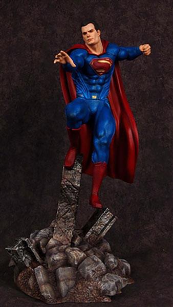 バットマンvsスーパーマン・ジャスティスの誕生 1/8 スーパーマン フィギュアキット アニメ・キャラクターグッズ新作情報・予約開始速報