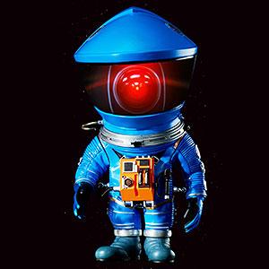 デフォリアル 2001年宇宙の旅 ディスカバリー アストロノーツ ブルーVer. フィギュア アニメ・キャラクターグッズ新作情報・予約開始速報