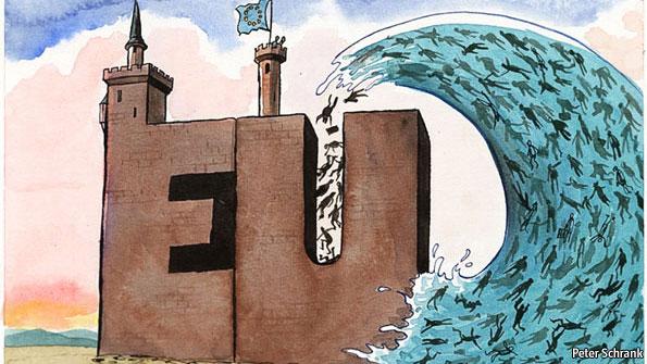 Κύμα μετανάστευσης στην Ευρώπη