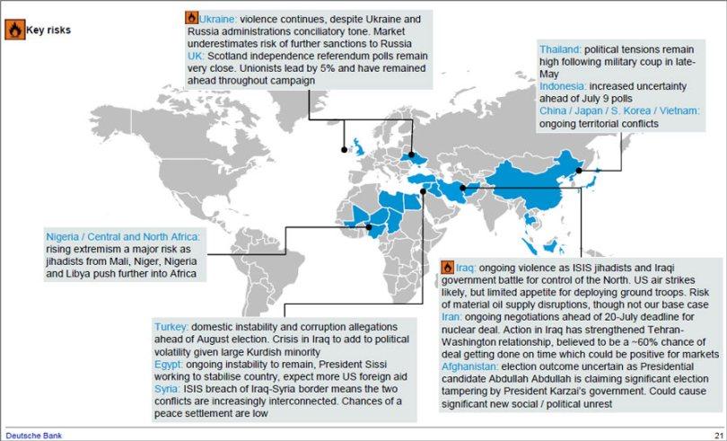 Οι ενεργές συγκρούσεις ανά τον κόσμο