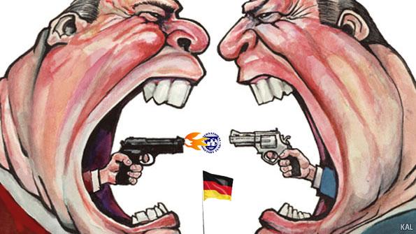 ΠΟλιτική-υποτέλεια-σε-Γερμανία-και-ΔΝΤ